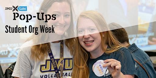 Pop-Up Workshop: Student Org Week