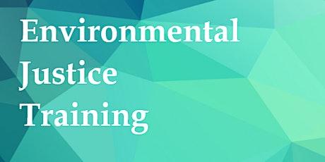 Environmental Justice Training tickets