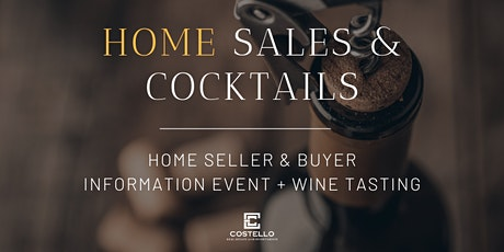 Home Sales & Cocktails tickets
