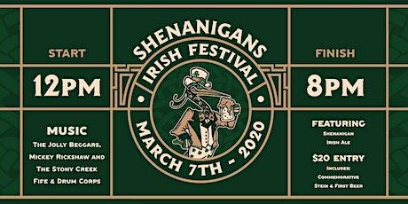 SHENANIGANS IRISH FESTIVAL  tickets