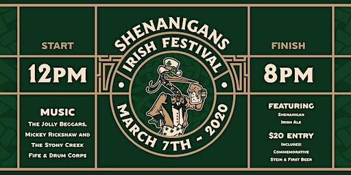 SHENANIGANS IRISH FESTIVAL