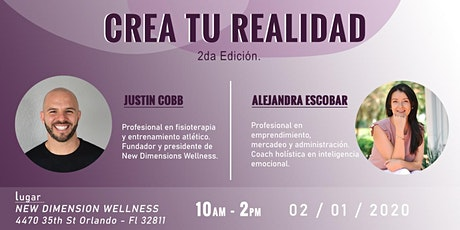 CREA TU REALIDAD - 2da. Edición entradas