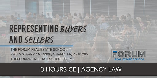 CE - Agency Law: Representing Buyers and Sellers