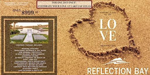 Reflection Bay Valentine's Day Elopements