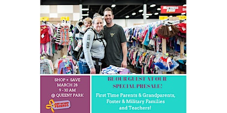 Just Between Friends West St. Louis County Spring 2020 Pop-Up Sale - Early Admission for First-Time Parents, Grandparents, Foster & Military Families and Teachers tickets