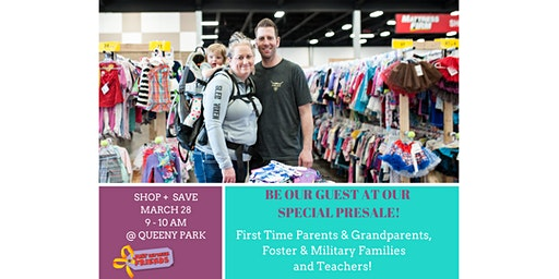 Just Between Friends West St. Louis County Spring 2020 Event - Early Admission for First-Time Parents, Grandparents, Foster & Military Families and Teachers