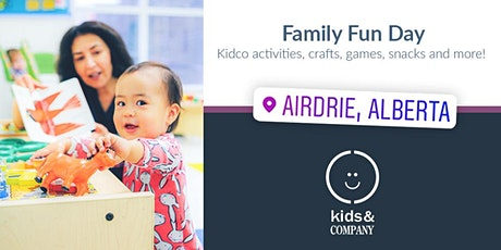 Kids & Company Airdrie Family Fun Day! tickets