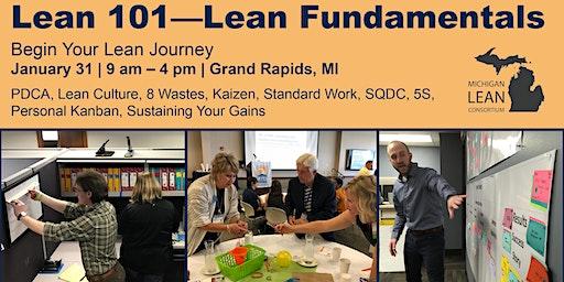 Lean 101- Lean Fundamentals
