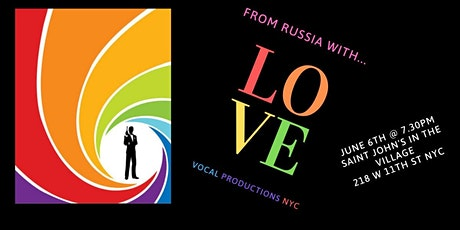 From Russia with Love tickets