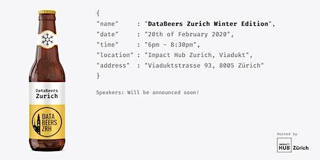 DataBeersZRH: Winter Edition tickets