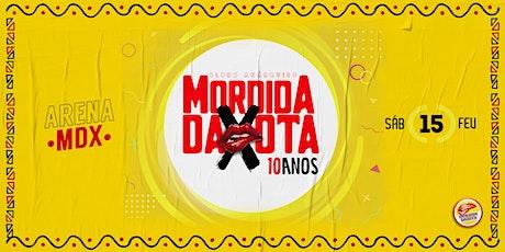 Mordida Daxota 2020 ingressos