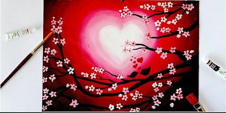 Valentine's Day Paint N' Sip tickets