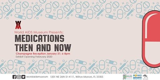 Medications Then and Now art exhibition - Champagne Reception
