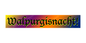 Walpurgisnacht! in Palatine, IL - April 30th, 2020