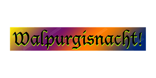 Walpurgisnacht! in Palatine, IL - April 30th, 2020