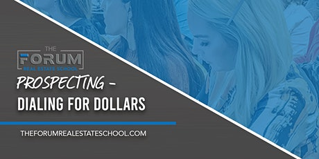 Prospecting - Dialing for Dollars  tickets
