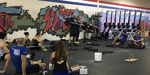 Blue Knight CrossFit Cohen Weightlifting Seminar