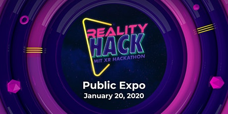 MIT Reality Hack Public Expo 2020 tickets