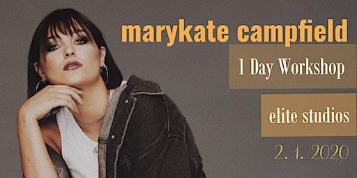 MaryKate Campfield 1 Day Workshop