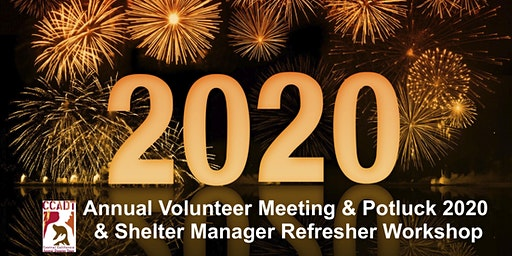 The CCADT Volunteer Meeting & Potluck 2020