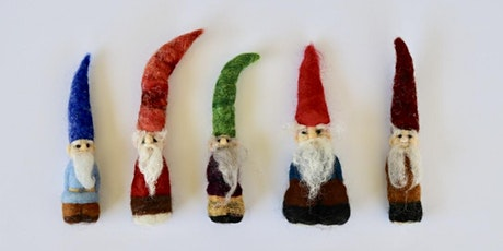CLASS FULL - Needle Felted Gnomes workshop at Ragfinery tickets