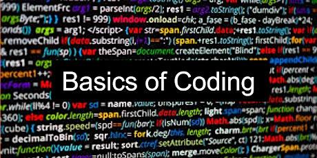 Basics of Coding Workshop (Java) tickets