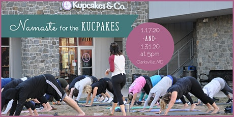 Namaste for the Kupcakes tickets