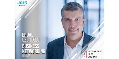 Erdal Uzunoğlu ile Business Networking Semineri tickets