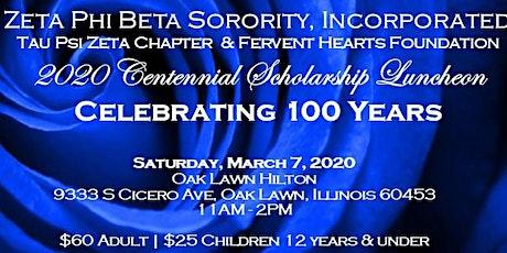 TPZ 2020 Centennial Scholarship Luncheon: Celebrating 100 Years tickets