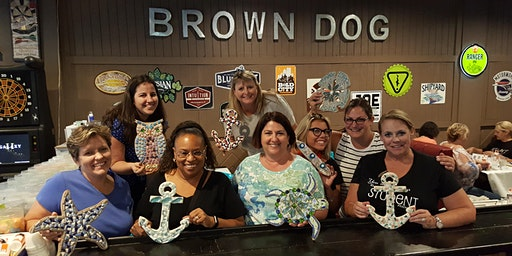 Mosaic Art Party in Palm Coast @ The Brown Dog
