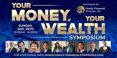 Your Money, Your Wealth Symposium tickets