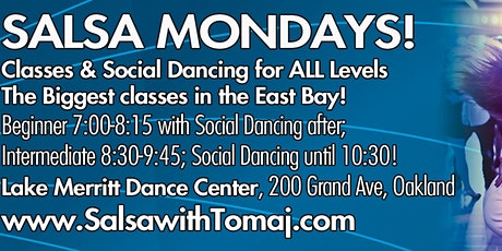 Salsa Mondays - Classes & Social Dancing for All Levels! tickets