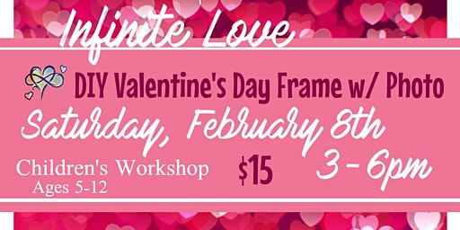 DIY Valentine's Day Photo Frame (Infinite Love One Stop Shop)