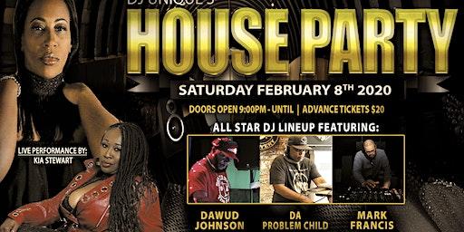 DJ UNIQUE'S HOUSE PARTY
