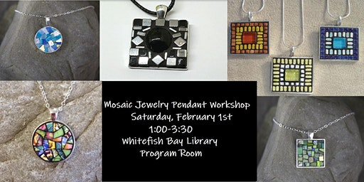 Mosaic Jewelry Pendant Workshop