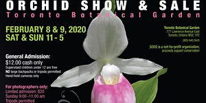 2020 SOOS Valentine's Orchid Show & Sale