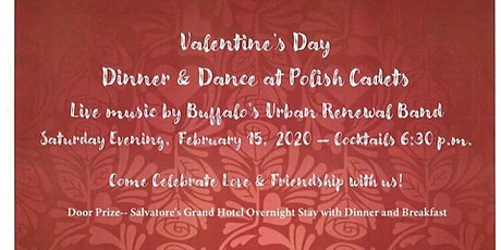 Valentines Day Dinner & Dance at Polish Cadets tickets