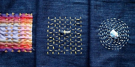 Sashiko Style Mending workshop at Ragfinery tickets