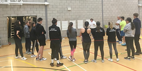 Free training course aimed at volunteers, Level 1, and Level 2 coaches tickets
