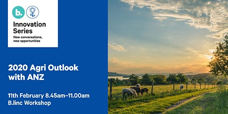 2020 Agri Outlook with ANZ tickets