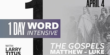 1 Day Word Intensive - April tickets