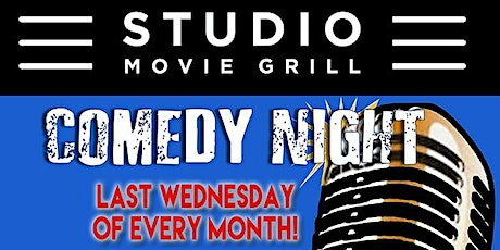 Glendale Live Comedy at Studio Movie Grill -- Wednesday, February 26 tickets