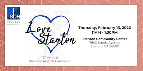 10th Annual Business Awards Luncheon tickets