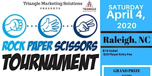 Raleigh Rock-Paper-Scissors Tournament