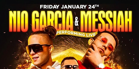 Nio Garcia & Messiah Performing LIVE at SLLounge tickets
