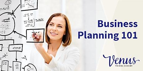 Venus Academy Wellington - Business Planning 101 - 25th September 2020 tickets