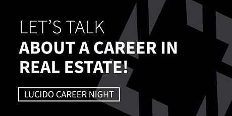 CAREER NIGHT at Bob Lucido Team - Ellicott City tickets
