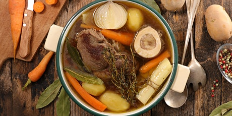 Demystifying Bone Broth and Pastured Meats: You Can do it at Home! tickets