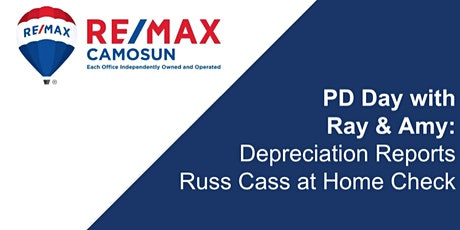 Professional Development - Depreciation Reports w/ Russ Cass of Home Check tickets