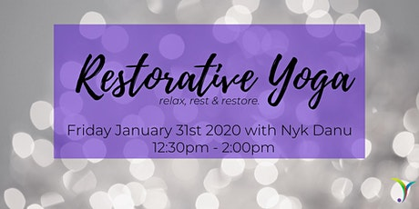 Restorative Yoga: Relax, Rest, & Restore tickets